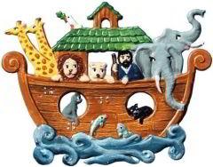 Zinnfigur Arche Noah, zum Hängen
