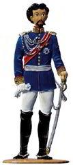 Zinnfigur König Ludwig II., zum Stellen