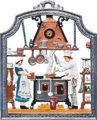 Zinnfigur Koch, zum Hängen